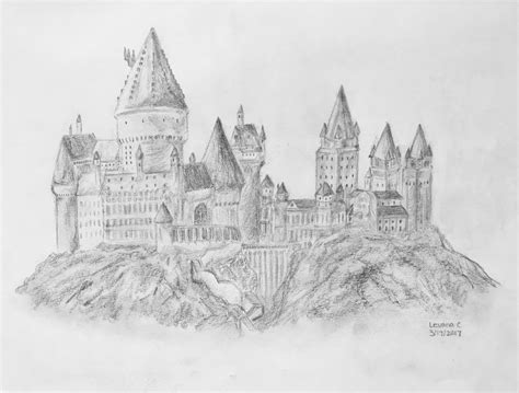 Harry Potter Castle Wallpaper Hogwarts School Of Witchcraft And Wizardry By Levanacats On Deviantart