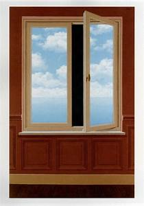 the field glass on canvas by rene magritte 1963