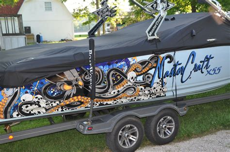 Boat Wraps Kentucky by Sirlin Octo X55 In Kentucky Mastercraft Boats Lakelife
