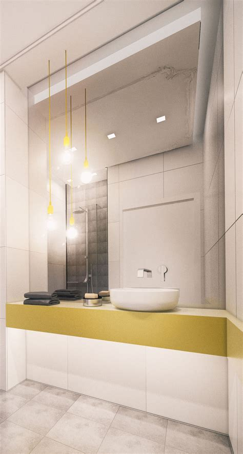 Some home decorating is completely modern with plain wood or laminate flooring throughout and maybe a totally tiled bathroom and of. Bathroom of small modern apartment 1 on Behance