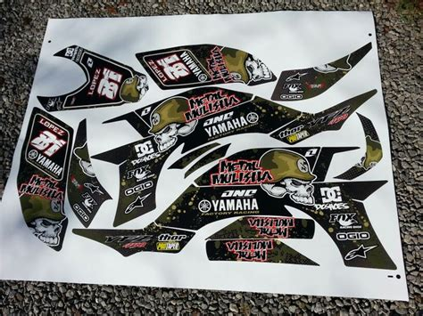 kit deco metal mulisha 71 best images about stickers on skateboard helmet honda and