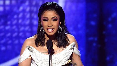 Cardi B Wins Historic Best Rap Album Grammy For Invasion