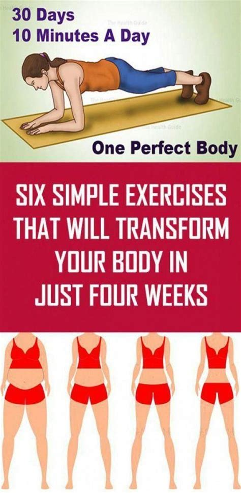 fitness body exercises workouts simple transform weeks four six tone ift tt easy