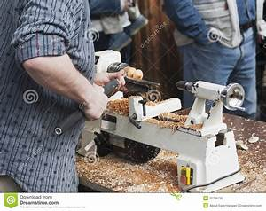 Man making wooden toy stock image Image of crafts