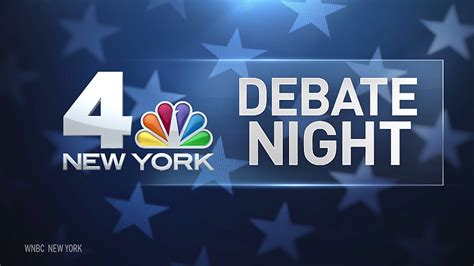 Nbc New York Broadcasts From Hofstra For Presidential