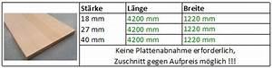 Leimholzplatten Zuschnitt Online : weitere sortimente platten leimholzplatten ~ A.2002-acura-tl-radio.info Haus und Dekorationen