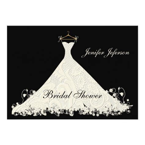 bridal shower invitation zazzle
