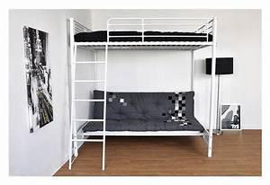 Hauteur Lit Mezzanine : lit deux places hauteur ~ Premium-room.com Idées de Décoration