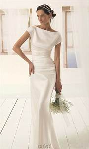 keep your wedding simple with minimalist wedding dress With minimalist wedding dress