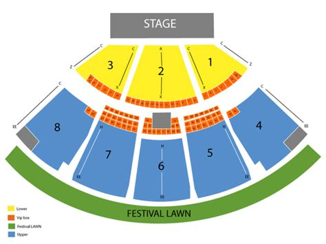 coral sky amphitheatre seating chart   west palm beach fl