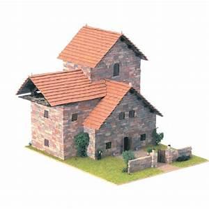 maquette maison rustica 5 achat vente assemblage With maquette maison a construire