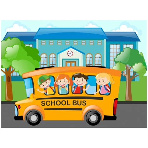 school bus vectors   psd files