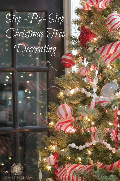 step by step decorating christmas tree step by step guide to decorating your tree domestic charm