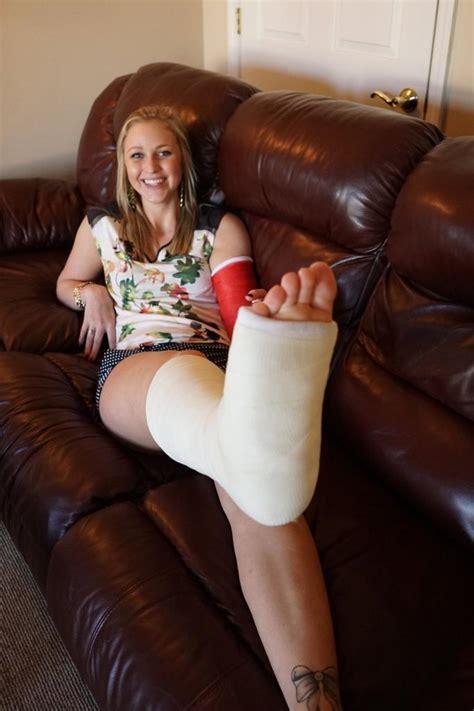 Girl Long Leg Cast