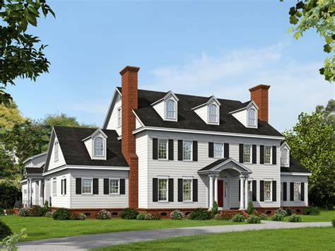 colonial luxury house plans colonial house plans premier luxury colonial home plan