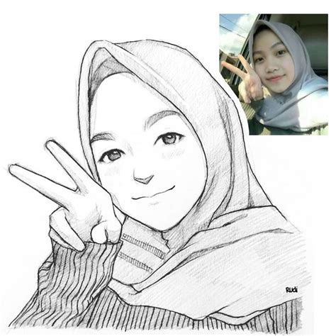 indonesian artist sketches real people  cartoons