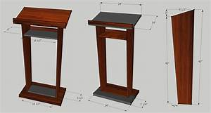 Expert Wood working: Build a podium woodworking