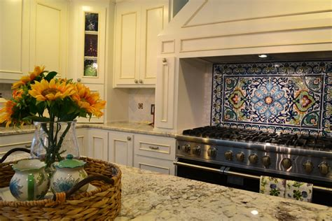 talavera tile kitchen backsplash get your kitchen bathed with awe with the touch of 5975