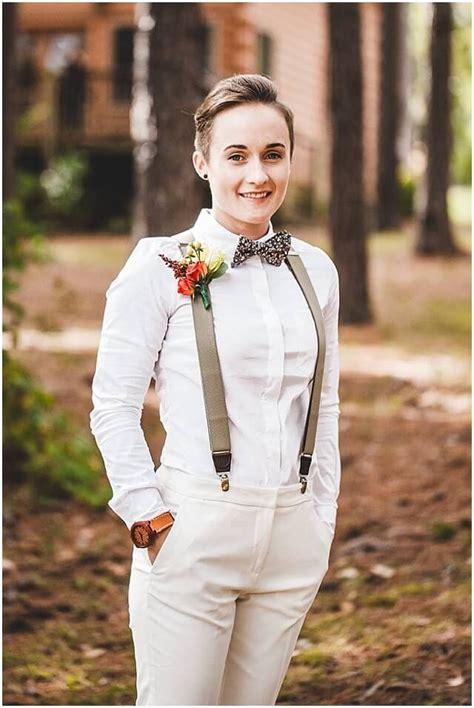 image result  white suit lesbian wedding  images