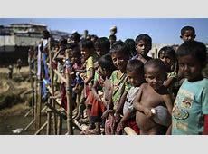 UN agencies short of funding to help Rohingya