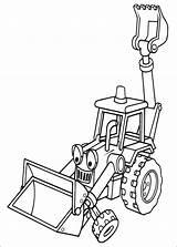 Builder Bob Coloring sketch template