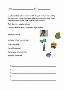Instructions Worksheet