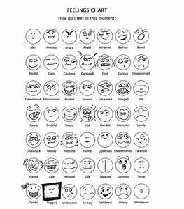 10 Sample Feelings Charts Pdf Sample Templates