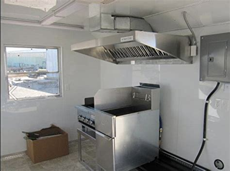 Kitchen Exhaust Fan Price In Dubai by 4ft Mobile Kitchen System With Exhaust Fan Buy