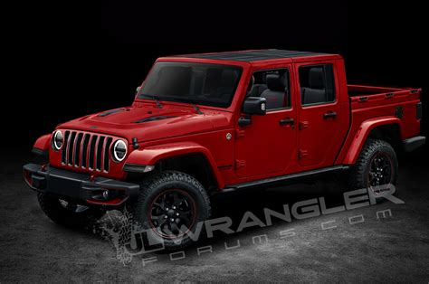 new 4 door jeep truck will the jeep wrangler pickup look like this motor