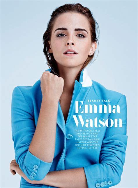 Emma Watson Instyle Magazine Usa May Issue