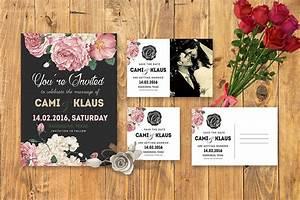 50 stylish wedding invitation templates for Diy wedding invitations photoshop