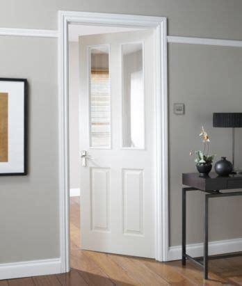 bq  panel white smooth internal glazed door  match   doors nattdpg white