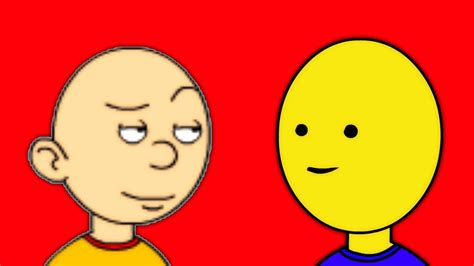 Caillou Vs Roblox Noob