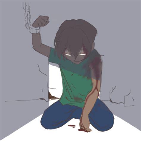 minecraft herobrine girl anime