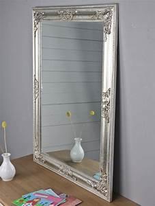 Großer Wandspiegel Silber : spiegel silber landhaus barock ~ Markanthonyermac.com Haus und Dekorationen