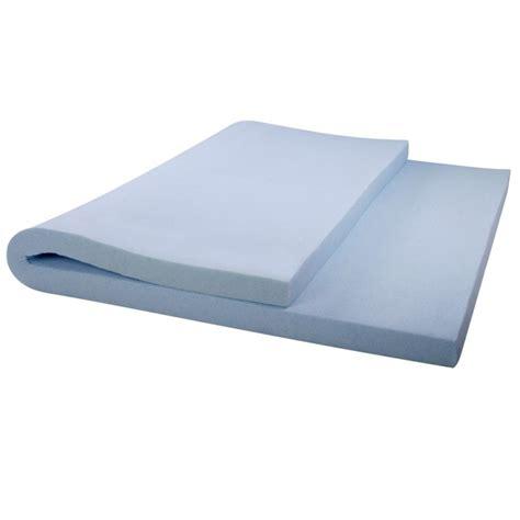 cool gel mattress topper cool gel memory foam mattress topper with bamboo fabric