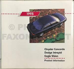 1993 Chrysler Concorde  Dodge Intrepid  Eagle Vision