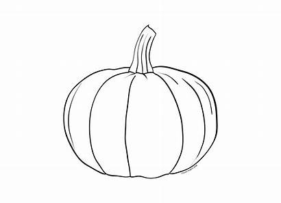 Pumpkin Fall Pages Printable Decor Cut Shape