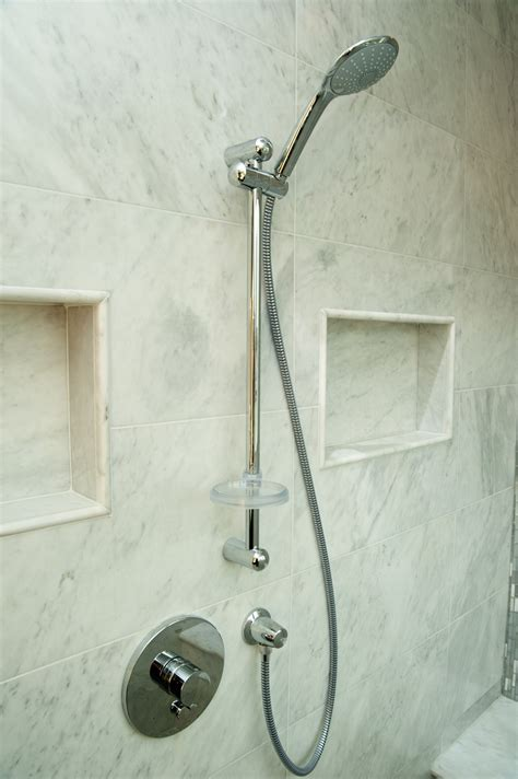 In The Shower by Shower Niche Design Build Planners