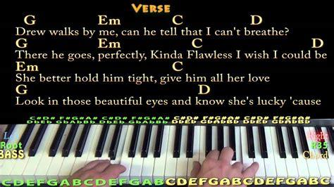 Teardrops On My Guitar (taylor Swift) Easy Piano In G