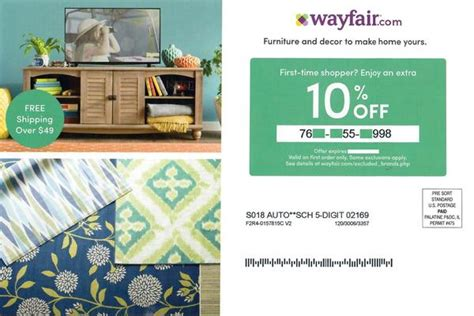 These offers can last six to 18 months or longer. Wayfair 10% off−Instant Delivery - Mass Koupons