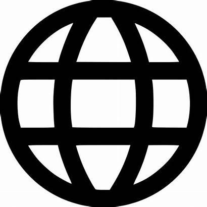 Icon Website Browser Web Internet Globe Global