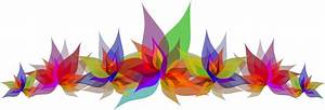 Clipart - Abstract Flowers