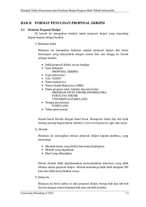 Bab 1 Pendahuluan Skripsi Teknik Informatika Ide Judul Skripsi Universitas