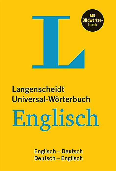 Langenscheidt Universalwörterbuch Englisch Mit