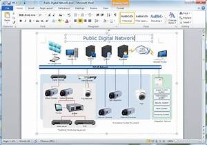 Create Network Diagrams For Word