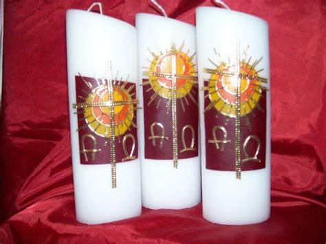 osterkerze selber basteln osterkerze auferstehungssonne ostern kerzen osterkerze und kerzen dekorieren