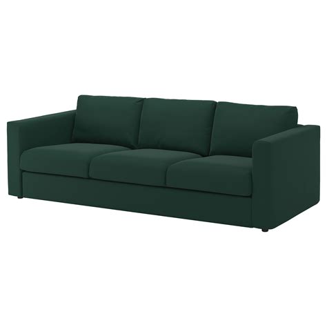 sofa covers for 3 seater sofa vimle cover for 3 seat sofa gunnared dark green ikea