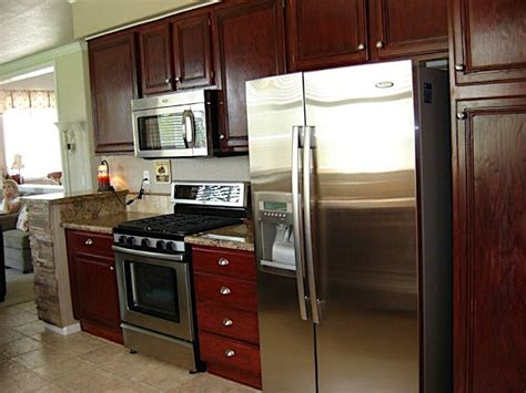 Gel Staining Kitchen Cabinets by Gel Stain On Stock Kitchen Cabinets