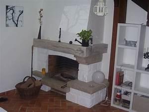 Peindre Des Poutres Anciennes : les 25 meilleures id es de la cat gorie relooking cheminee ~ Premium-room.com Idées de Décoration